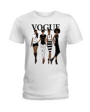 V0GUE QUEEN Ladies T-Shirt thumbnail