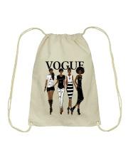 V0GUE QUEEN Drawstring Bag thumbnail
