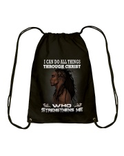 STRONG MAN Drawstring Bag thumbnail
