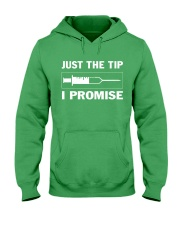 JUST THE TIP Hooded Sweatshirt front