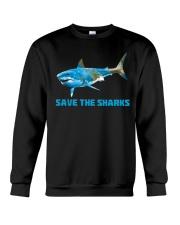 SAVE THE SHARKS Crewneck Sweatshirt thumbnail