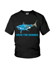 SAVE THE SHARKS Youth T-Shirt tile