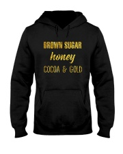 BROWN SUGER - HONEY - COCOA n GOLD Hooded Sweatshirt thumbnail