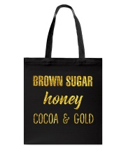 BROWN SUGER - HONEY - COCOA n GOLD Tote Bag thumbnail