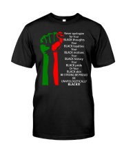 BE UNAPOLOGETICALLY Classic T-Shirt front