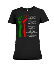 BE UNAPOLOGETICALLY Premium Fit Ladies Tee thumbnail