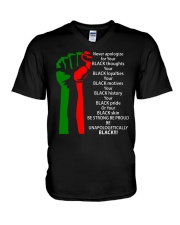 BE UNAPOLOGETICALLY V-Neck T-Shirt thumbnail