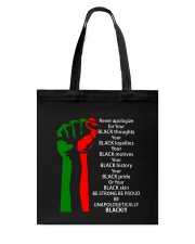 BE UNAPOLOGETICALLY Tote Bag thumbnail