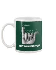 DON'T YOU UNDERSTAND Mug back
