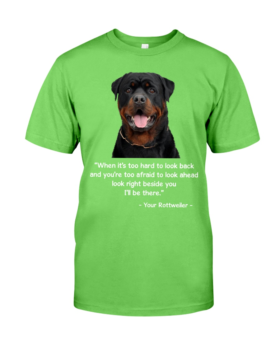 ROTTIE TALKING Classic T-Shirt
