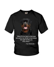 ROTTIE TALKING Youth T-Shirt tile