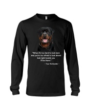 ROTTIE TALKING Long Sleeve Tee tile