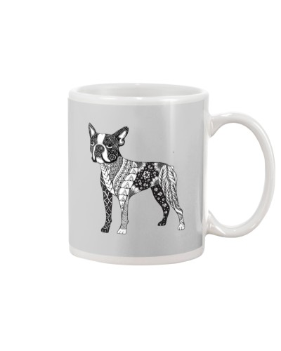 BOSTON TERRIER Coloring