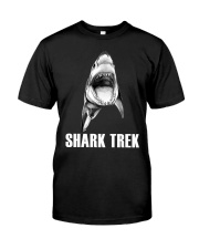 FUNNY SHARK Premium Fit Mens Tee thumbnail
