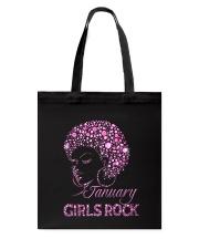 JANUARY GIRLS ROCK Tote Bag thumbnail