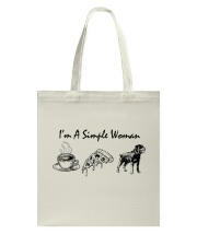 I LOVE ROTTWEILER Tote Bag thumbnail