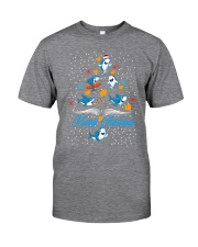 SHARKS CHRISTMAS Classic T-Shirt front