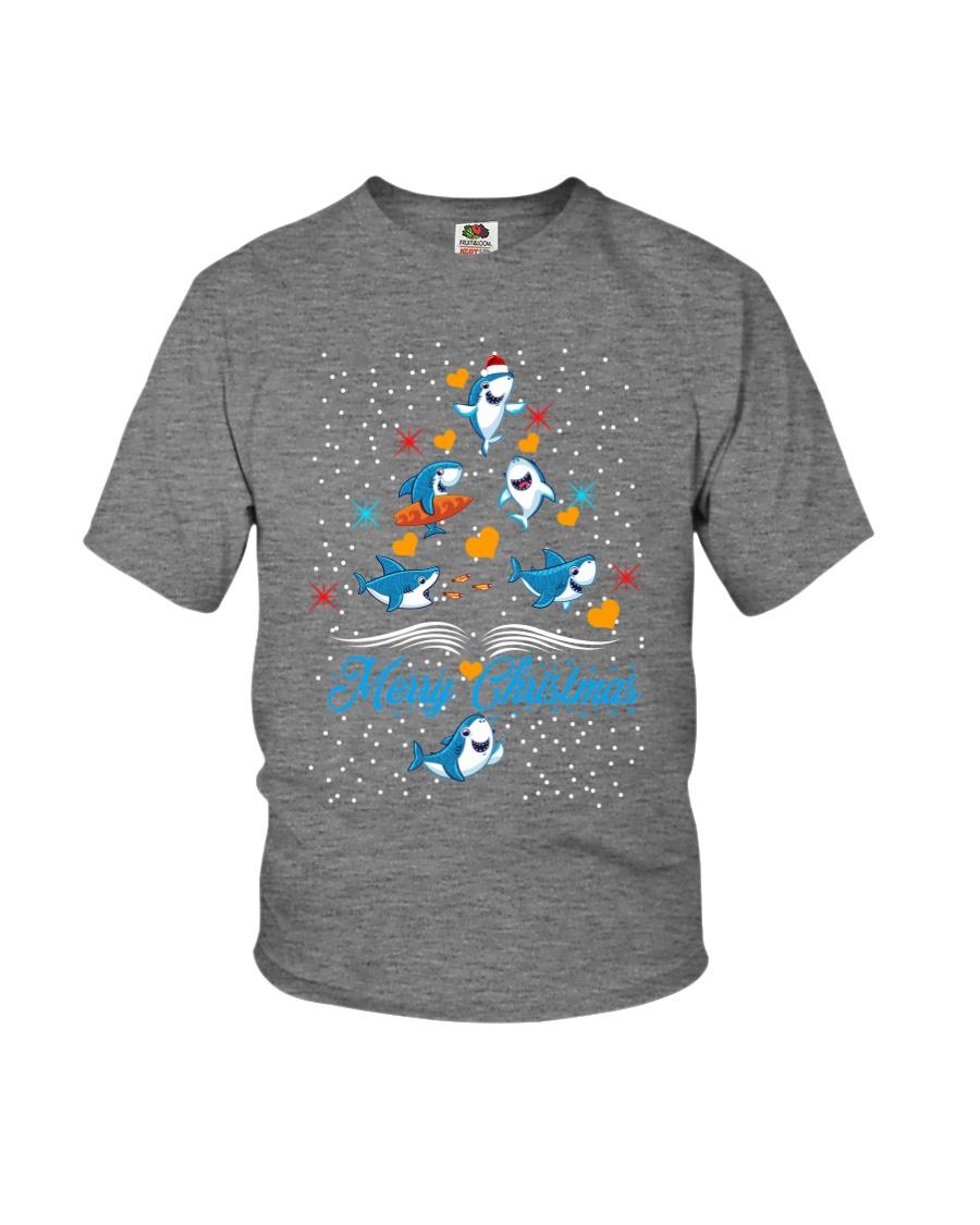 SHARKS CHRISTMAS Youth T-Shirt