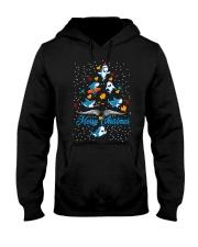 SHARKS CHRISTMAS Hooded Sweatshirt thumbnail