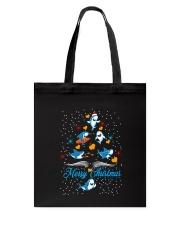 SHARKS CHRISTMAS Tote Bag thumbnail