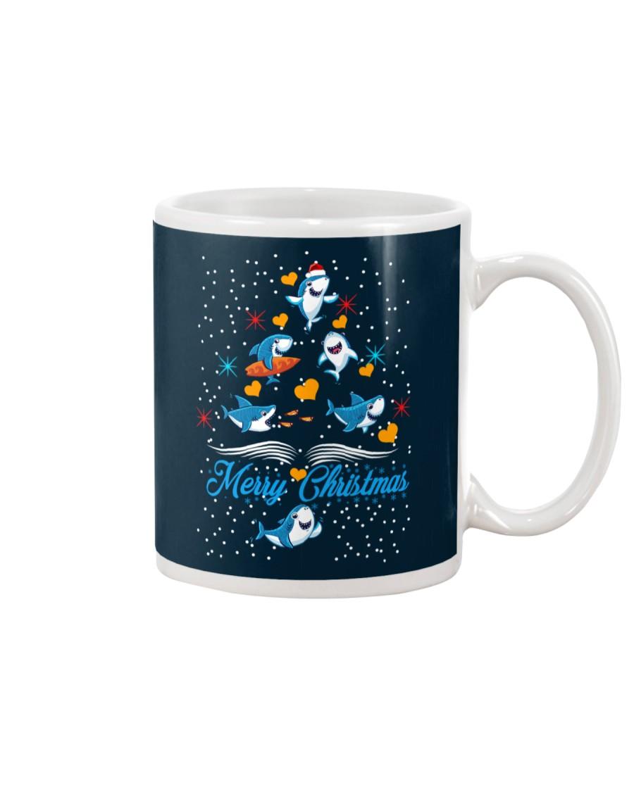 SHARKS CHRISTMAS Mug