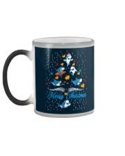 SHARKS CHRISTMAS Color Changing Mug color-changing-left