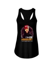 I AM NOT ARROGANT Ladies Flowy Tank thumbnail