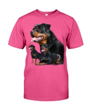 ROTTIES ON SHIRT Classic T-Shirt front