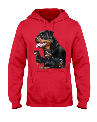 ROTTIES ON SHIRT