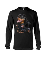 ROTTIES ON SHIRT Long Sleeve Tee thumbnail