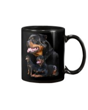 ROTTIES ON SHIRT Mug thumbnail