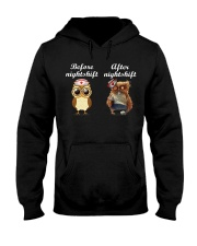 BEFORE NIGHTSHIF - AFTER NIGHTSHIFT Hooded Sweatshirt thumbnail