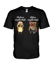 BEFORE NIGHTSHIF - AFTER NIGHTSHIFT V-Neck T-Shirt thumbnail