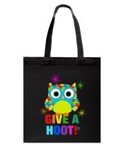 GIVE A HOOT Tote Bag thumbnail