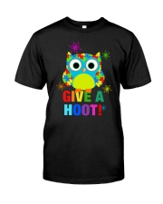 GIVE A HOOT Classic T-Shirt front