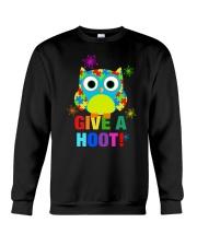 GIVE A HOOT Crewneck Sweatshirt thumbnail