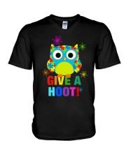 GIVE A HOOT V-Neck T-Shirt thumbnail