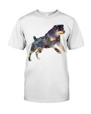 ROTTWEILER GLITTER Classic T-Shirt front