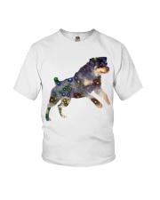 ROTTWEILER GLITTER Youth T-Shirt thumbnail