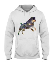 ROTTWEILER GLITTER Hooded Sweatshirt thumbnail