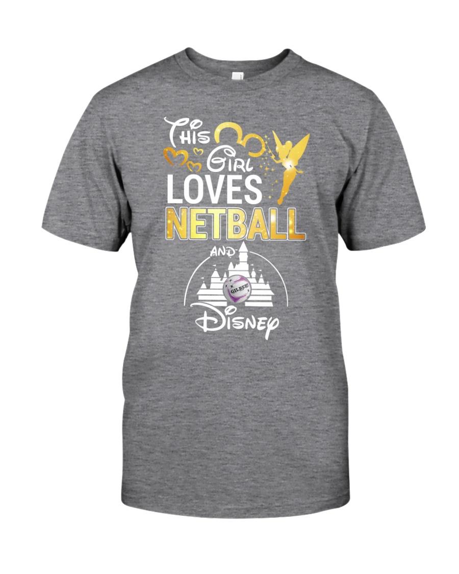 THIS GIRL LOVE NETBALL Classic T-Shirt