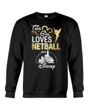 THIS GIRL LOVE NETBALL Crewneck Sweatshirt thumbnail
