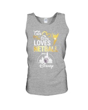 THIS GIRL LOVE NETBALL Unisex Tank front