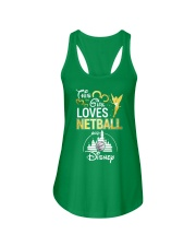 THIS GIRL LOVE NETBALL Ladies Flowy Tank front