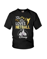 THIS GIRL LOVE NETBALL Youth T-Shirt tile