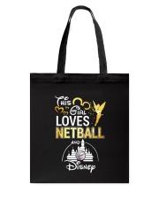 THIS GIRL LOVE NETBALL Tote Bag thumbnail