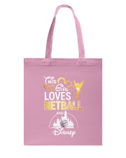 THIS GIRL LOVE NETBALL Tote Bag front