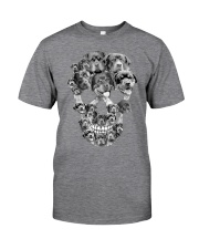 ROTTIES SKULL Classic T-Shirt front