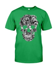 ROTTIES SKULL Classic T-Shirt front