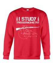 I STUDY TRIGGERNOMETRY Crewneck Sweatshirt front